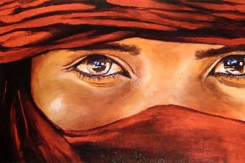 FOTKA - arabské oči