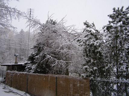 FOTKA - nasněžilo 22.2.