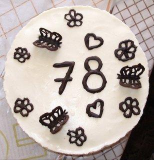FOTKA - Torta pre starkého z hora