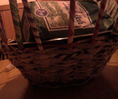 FOTKA - Papírový košíček 1