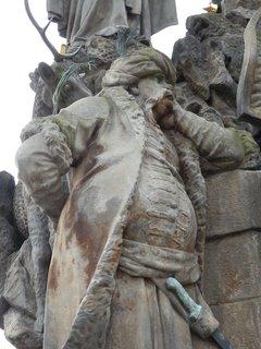 FOTKA - Turek z Karlova mostu - více bude tento týden v článku o pražských sochách