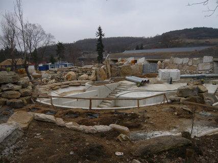 FOTKA - výstavba nového pavilonu v pražské ZOO pokračuje