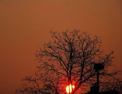 FOTKA - východ slunce 24.3.2012