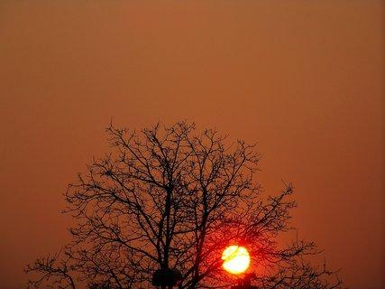 FOTKA - východ slunce 24.3.2012..