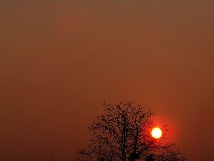 FOTKA - východ slunce 24.3.2012,...