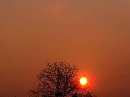 FOTKA - východ slunce 24.3.2012,,...