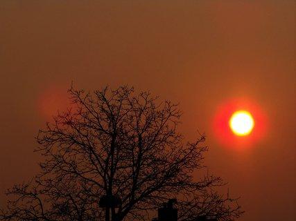 FOTKA - východ slunce 24.3.2012,,,,,.......