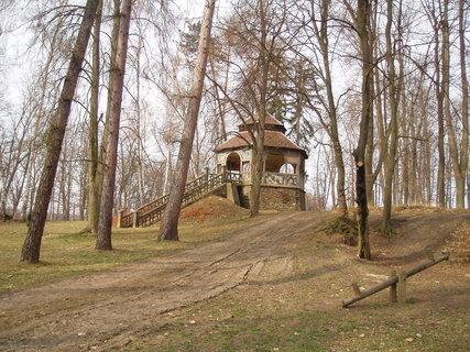 FOTKA - Altán v parku u rybníka
