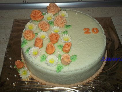 FOTKA - hotový dort