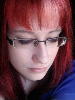 FOTKA - Dcera -nová barva vlasů.