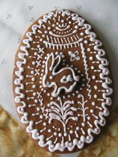 FOTKA - Zdobený velikonoční perník