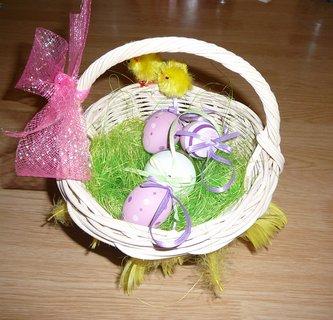 FOTKA - velikonoční košík