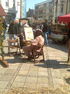 FOTKA - Návštěva Ostravy - Velikonoční městečko