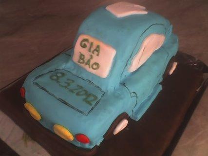 FOTKA - Modré autíčko