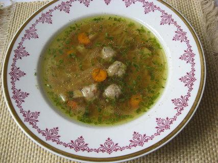 FOTKA - Hovězí polévka