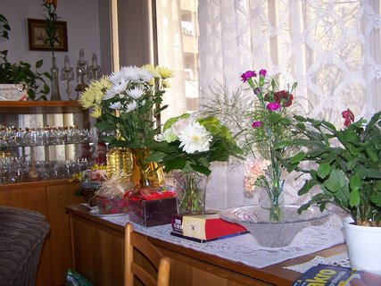 FOTKA - Oslava narozenin u maminky