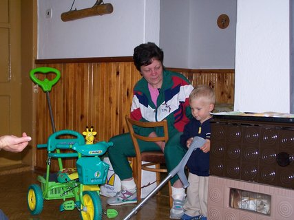 FOTKA - sestřenka s vnoučkem