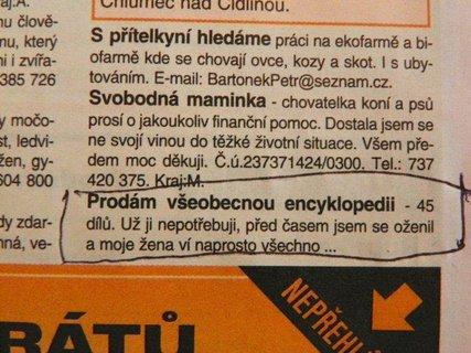 FOTKA - Prodej encyklopedie