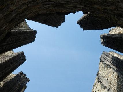 FOTKA - Panenský Týnec, nedostavěný chrám, Slánsko