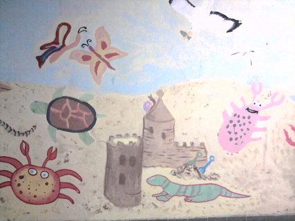 FOTKA - malovaný podchod na nádraží v Teplicích I