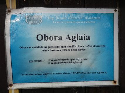 FOTKA - Obora Aglaja u Dobříše (jak se Aglaja dostala do brdských lesů dovíte se v článku 13.5.)
