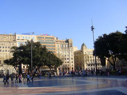FOTKA - Náměstí v Barceloně