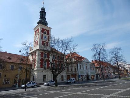 FOTKA - renesančně upravená městská radnice, Slaný