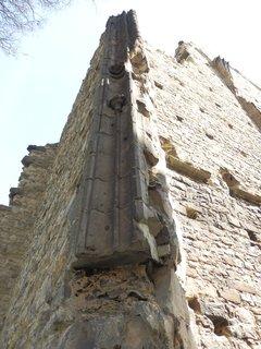 FOTKA - část zdi (na výletě  v Panenském Týnci)