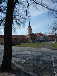 FOTKA - radnice na náměstí v královském městě Slaný