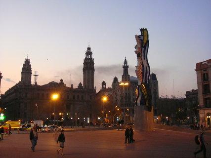 FOTKA - Noční Barcelona