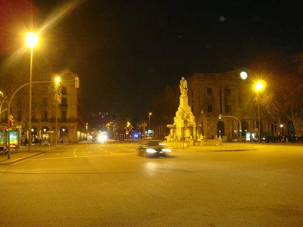 FOTKA - Barcelona v noci.