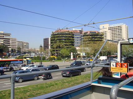 FOTKA - Pohled z vyhlídkového autobusu