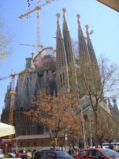FOTKA - Gaudí započal se stavbou roku 1882