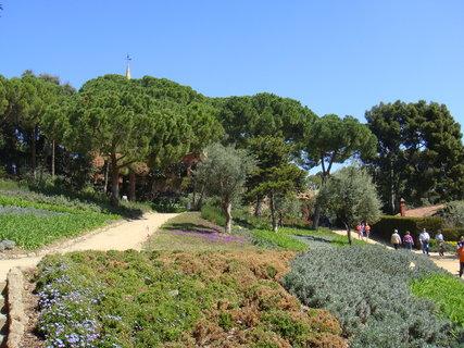 FOTKA - Park navrhl katalánský architekt Antoni Gaudí původně jako zahradní město