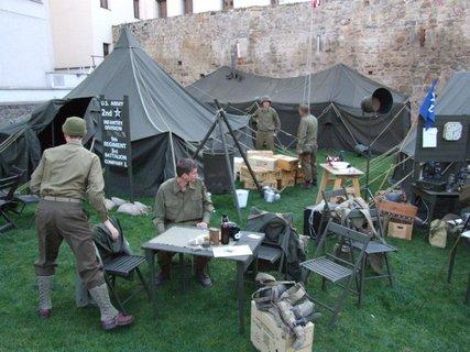 FOTKA - Americký vojenský tábor