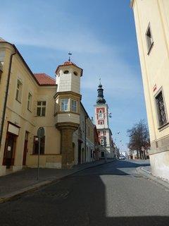 FOTKA - Slaný - ulice k náměstí