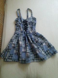 FOTKA - Šaty z patworku pro dceru.