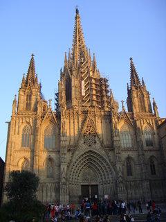 FOTKA - Katedrála sv. Eulalie v Barceloně