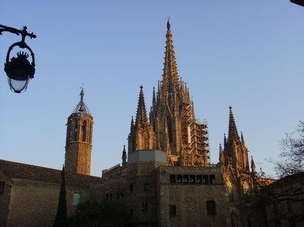 FOTKA - Katedrála sv. Eulalie v Barceloně.