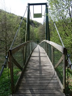 FOTKA - Hamerská lávka (z toulek národním parkem Podyjí)