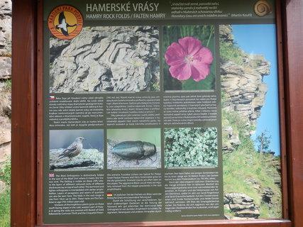 FOTKA - Hamerské vrásy - infotabule