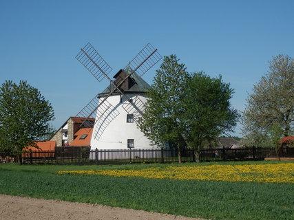FOTKA - Větrný mlýn v Lesné u Znojma - současné době využíván jako restaurace