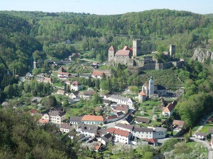 FOTKA - Hardegg, nejmenší rakouské městečko u hranic