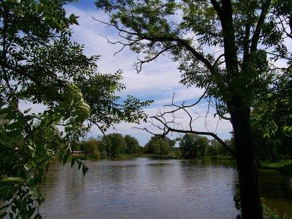 FOTKA - Šeberov u Prahy, rybník