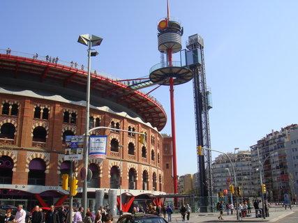 FOTKA - Zde probíhaly býčí zápasy, které jsou již nyní v Katalánská zakázány