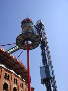 FOTKA - Výtah na ochoz