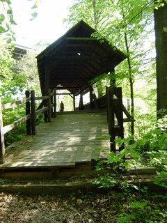 FOTKA - dřevěný most