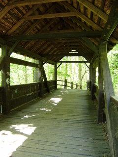 FOTKA - dřevěný most 2
