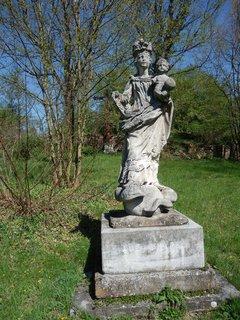 FOTKA - madona u býv. hřbitova ve Vranově
