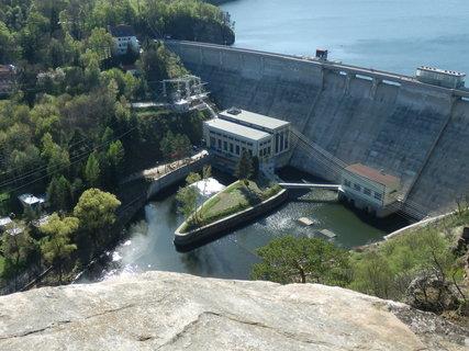 FOTKA - z vyhlídky nad Vranovskou přehradou